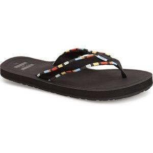 Toms 'Solana' Flip Flop Size 9